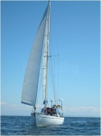 Plain sailing in the Firth of Clyde