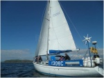 Under sail in the Firth of Clyde