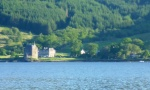 Carrick Castle from Loch Goil