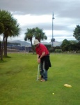 Pitch & putt in Rothesay, Bute