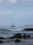 Tall Ship off Rathlin Island